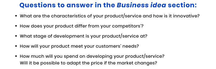 business idea questions for tech startup