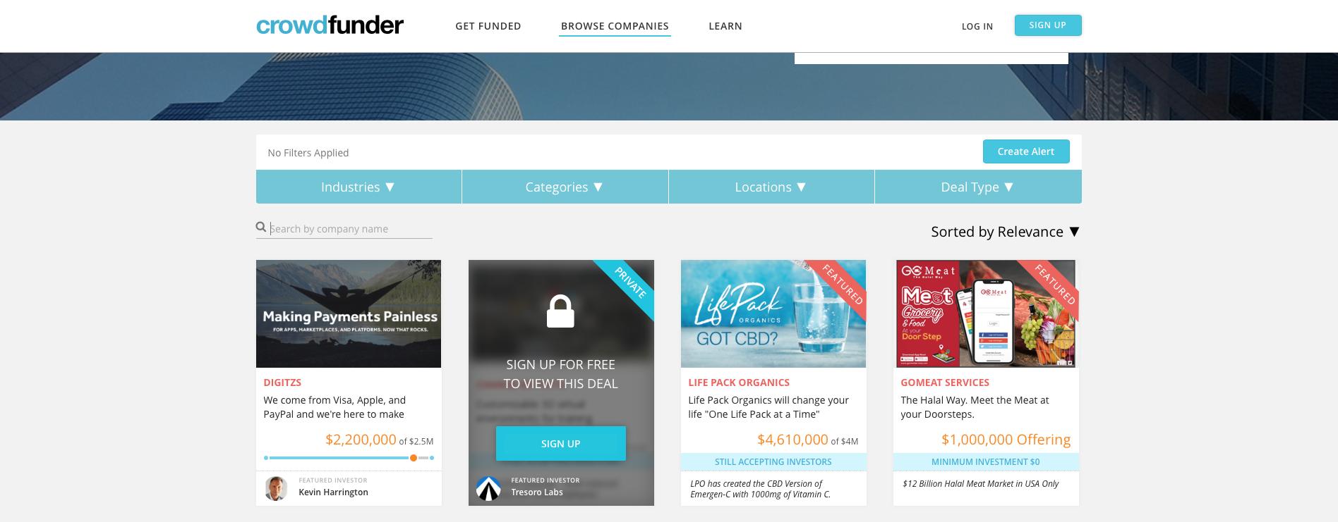 business plan crowdfunding platform